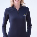 charlotte collection - navy with black